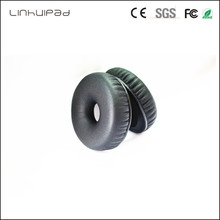 hot deal buy linhuipad 1 pairs 58mm black memory replacement ear cushions for the telex airman 850 headsets