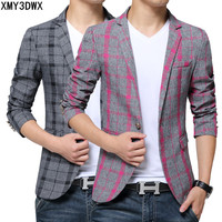 2017 Mens Blazer Suit Jacket Fashion Men Camouflage Blazer Style Casual Single Button Military Blazer Men