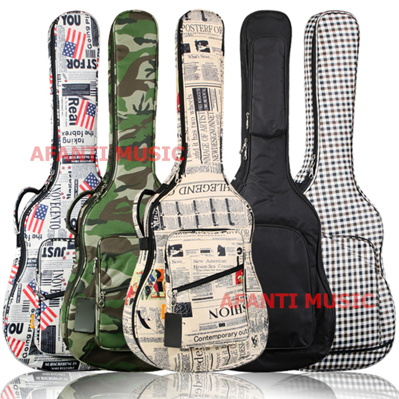 Afanti Music 40 size / 41 size / Acoustic Guitar Bag (FTG-105) 40 inch burlywood color acoustic guitar of afanti music aal 1304