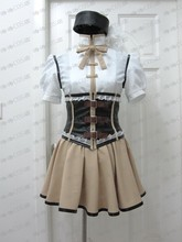 Anime Puella Magi Madoka Magica Tomoe Mami Cosplay Costume Custom Any Size Halloween недорого