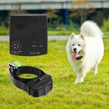 Собака Забор Открытый Портативный дешевый беспроводной Собака электрический забор водонепроницаемый и Перезаряжаемый звуковой сигнал вибрационная ударная система охраны
