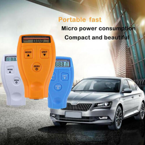 Manual GM200 Paint Thickness Digital Paint Coating Gauge Car Painting Meter