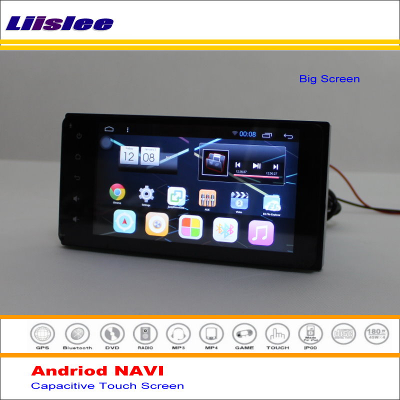 Liislee Android GPS Navigation System For Toyota Corolla Matrix / Matrix 2002~2008 Radio Stereo Video Multimedia No DVD Player
