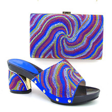 Fashion Ladies Shoe and Bag Set African Shoes and Bags Matching Set African Wedding Shoe and Bag To Match for Parties