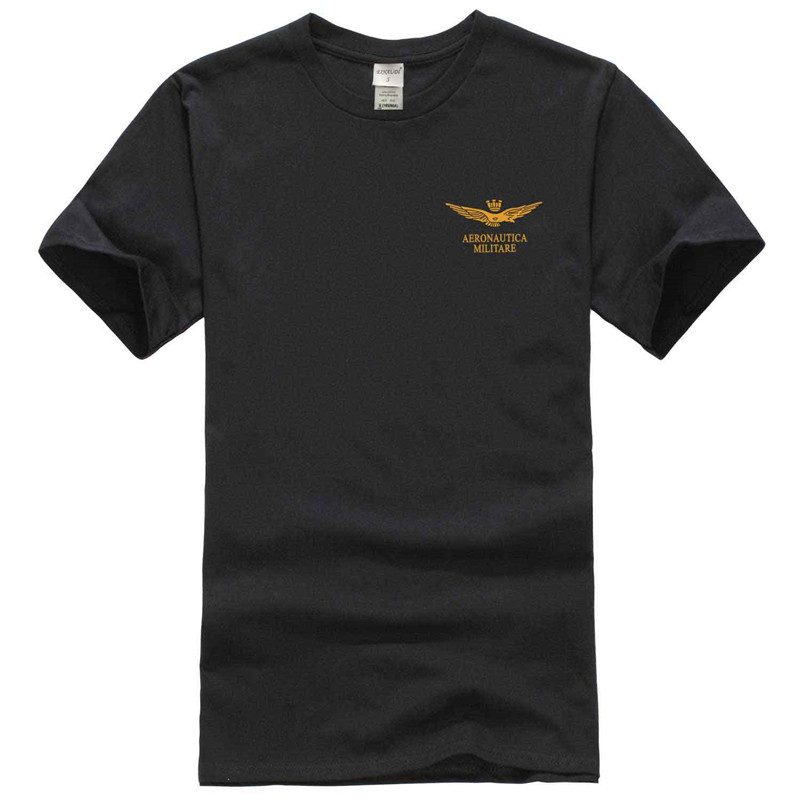 2017 New Fashion Air Force One printing t-Shirt men cotton short sleeves Casual male tshirt fashion t shirts men tops tees free