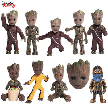 Guardian of the galaxy VOL.2, Keychain Groot brand new in Box Tree Man Gruitt Hand Pendant Figures Toy Key ring guardians of the galaxy vol 2 baby groot 3