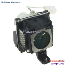 Hoge kwaliteit 5J. j1R03.001 Vervangende lamp Met Behuizing Voor BENQ CP220, CP220C, CP225 MP610 MP620 MP620p MP720 MP770 W100