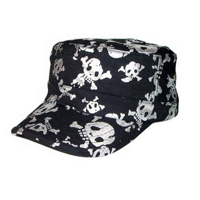 Verão chapéu feminino hiphop boné de beisebol lazer esqueleto do crânio de ouro chapéu masculino sol ao ar livre do esporte tampão do esporte para a primavera verão outono