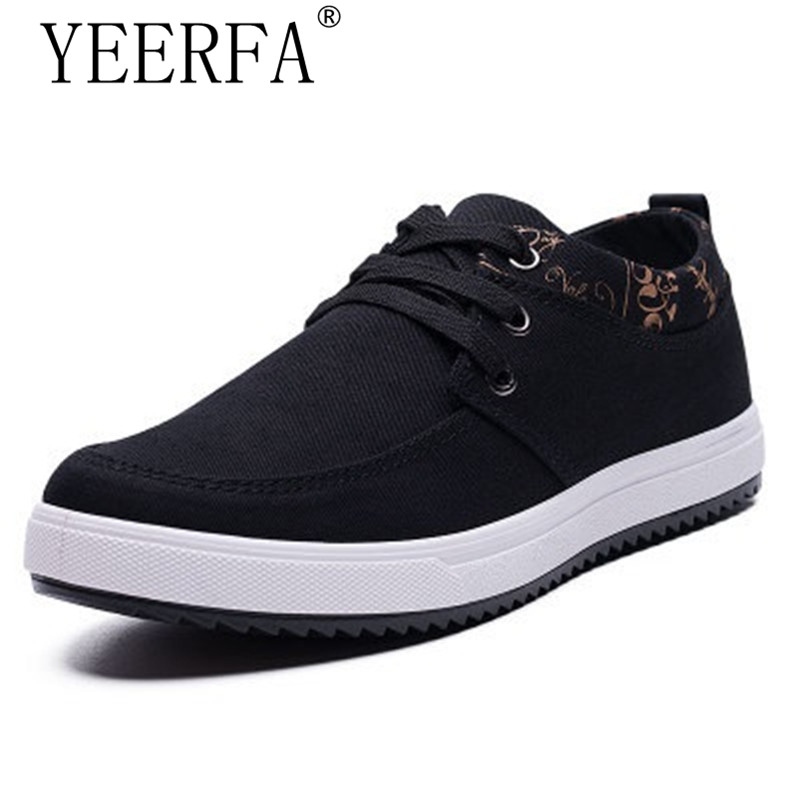 New Arrival Spring Summer Comfortable Casual Shoes Mens Canvas Shoes For Men Lace-Up Brand Fashion Flat Loafers Shoe size 39-44 цена
