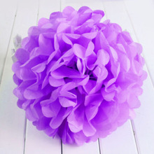 Tissue Paper Pom Flowers Ball Party Wedding Home Baby Shower Event Decor Props Origami