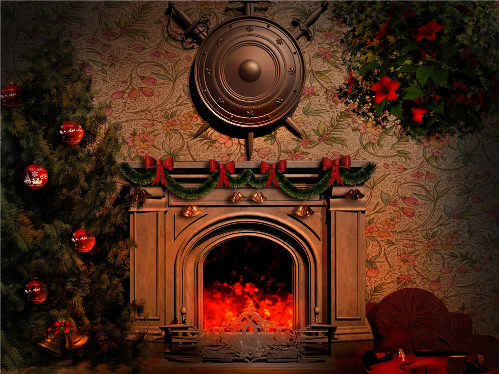 Retro Background Christmas Photo Props Photography Screen Backdrops for Children Vinyl 7x5ft or 5x3ft christmas033 photography backdrops children photo studio props brick walls baby background vinyl 9x6ft or 7x5ft or 5x3ft jiejp189