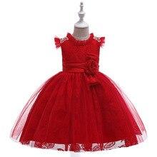 Новые красные платья для выпускного вечера с цветочным принтом, кружевное вечернее платье для дня рождения, платья-пачки в