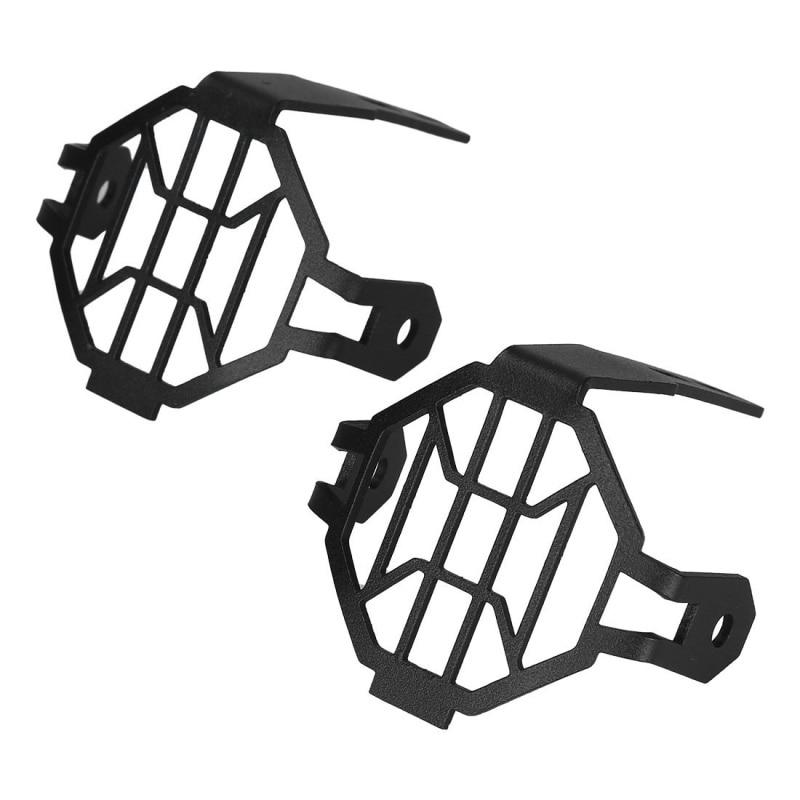 FADUIES Moto LED Fog Light & Protéger Gardes avec Faisceau De Câblage Pour BMW R1200 GS/ADV Moto Led Lumières blanc 6000 k - 3