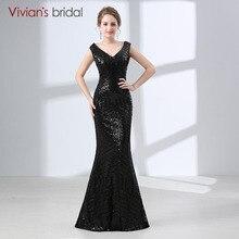 14bb2224d699 Di Vivian Da Sposa Sexy di Paillettes A Buon Mercato Lungo Della Sirena Da  Sera del Vestito Da Promenade Lungo Del Partito 2018 .