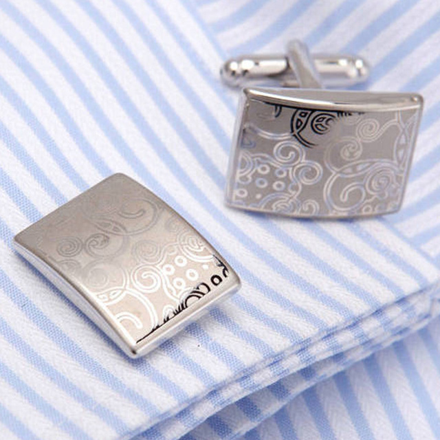 Vagula Enamel Cuff Links Top Wedding Cufflinks French Shirt Cuffs Para Camisas Gemelos 10148