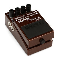 Boss Audio OC 3 Dual Super Octave Pedal For Guitar Or Bass With Built In Overdrive