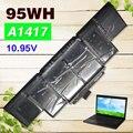 """10.95 В 95WH аккумулятор для ноутбука apple MacBook pro A1398 A1417 15 """"MC976CH MC975"""