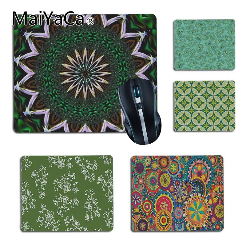 MaiYaCa Non Slip PC green Customized laptop Gaming small mouse pad Size for 180x220x2mm and 250x290x2mm Small Mousepad