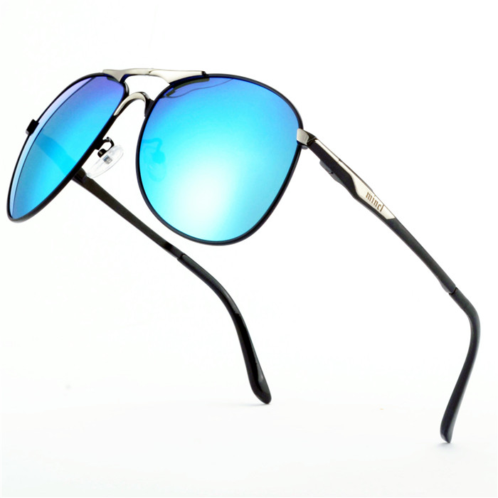Polarized Full-Rimless Sunglasses Women/Men Vintage UV400 Classic Eyewear Brand Designer Sun Glasses FML 3