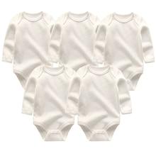 2019 body niemowlęce śliczne 5 sztuk/partii noworodki Baby boy girls odzież bielizna kostium dla dzieci