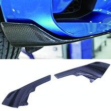 M-P Srtle Carbon fiber Add On Front Splitters Winglets For BMW M2 F87