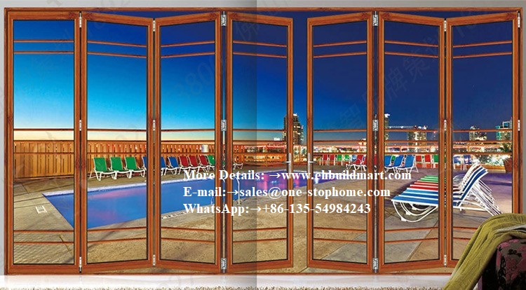 Internal Aluminum Door Garden Folding Doors,barn Door Hardware,sliding Door,front Door,panel Door,bifold Glass Sliding Door
