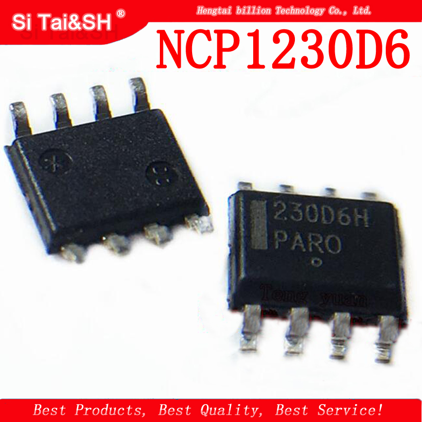 10pcs  /lot 230D6 NCP1230D6 SOP-8 LCD Power Chip
