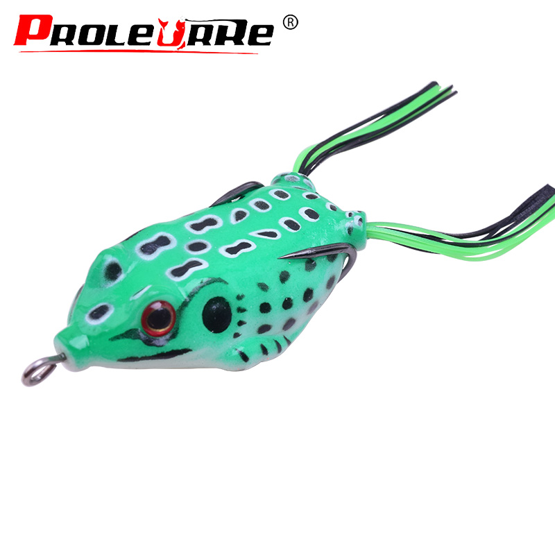 Frog Lure Soft Lures Artificial Fishing Baits Topwater Wobbler Pike Snakehead