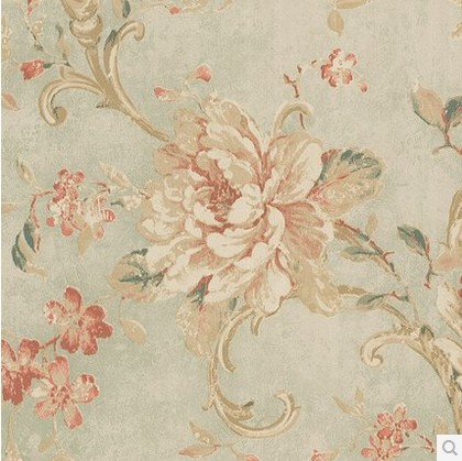 American Pastoral Mural Flowers Wallpaper For Walls Roll Vintage Flower Contact Paper Home Decor Bedroom Papel De Parede Floral In Wallpapers From