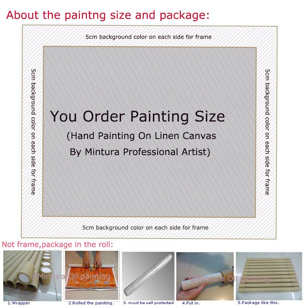 Livraison gratuite peint à la main animaux modernes coloré africain Lovebird peinture à l'huile sur toile Art mural peinture salon décor - 5