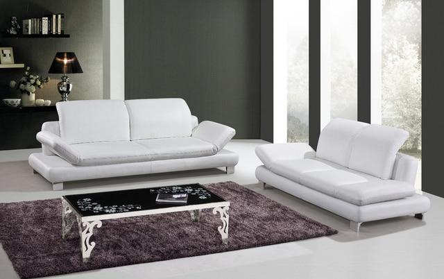 Online-Shop Kuh Echtes Leder Sitzgruppe Wohnzimmer Möbel Couch