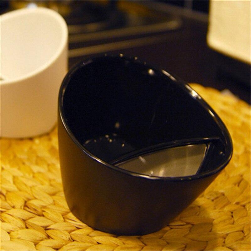 Nouveau Nouveauté En Plastique Tasse Creative Tilt Thé Intelligent D'eau Thé Filtre À Thé de Tasse COMME Cadeau Pour Après-Midi Thé Verres