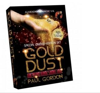 GOLD DUST LIVE BY PAUL GORDON 3 DVD Set-Magic trucos