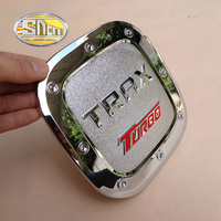 Car Styling Decoration Stainless Steel Or Chromed ABS Sticker Of Fuel Tank Cap Gas Cap Tank