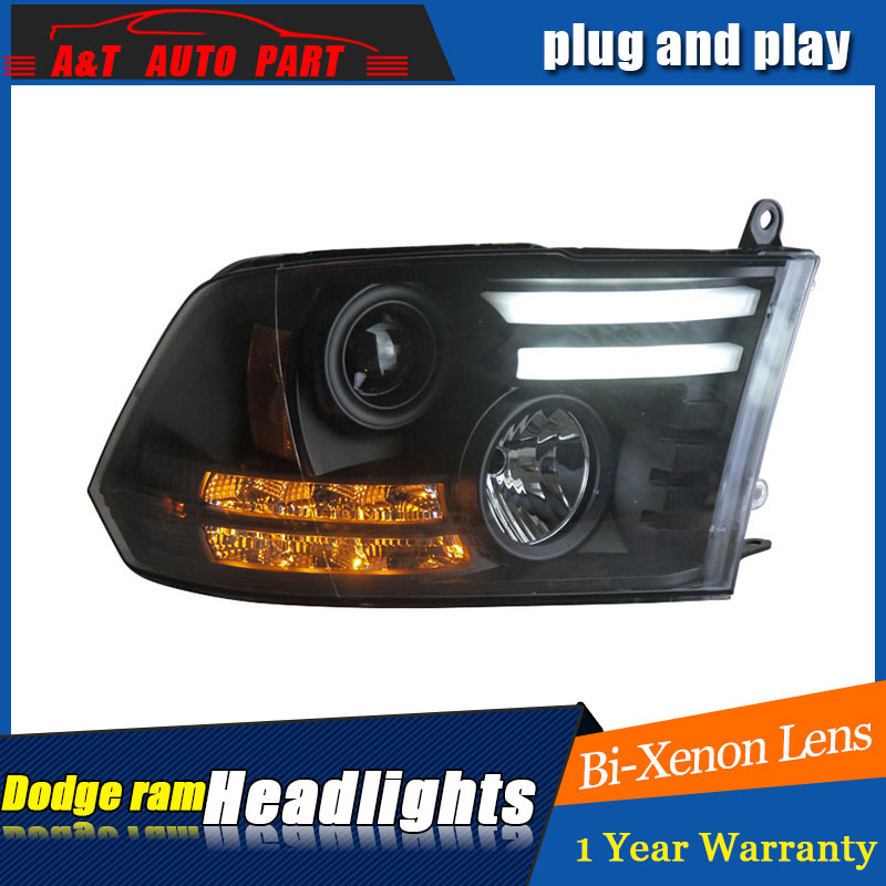 Auto part Style LED Head Lamp for Dodge Ram led headlights 2011 for Ram drl H7 hid  Bi-Xenon Lens angel eye low beam auto clud style led head lamp for benz w163 ml320 ml280 ml350 ml430 led headlights signal led drl hid bi xenon lens low beam