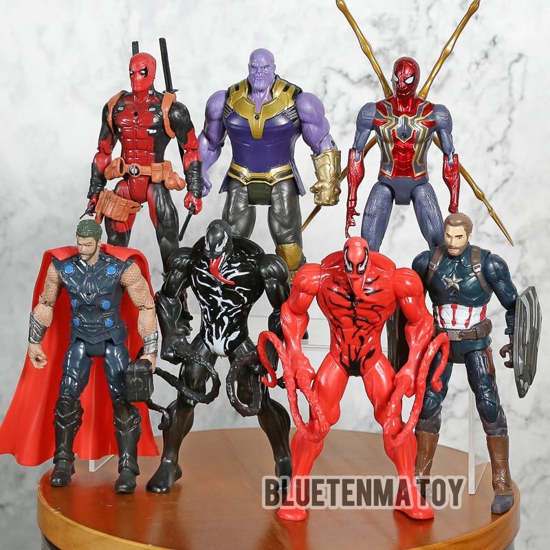 Spiderman CARNAGE Action Figur Figuren Spielzeug Actionfigur Kinder Geschenk Toy