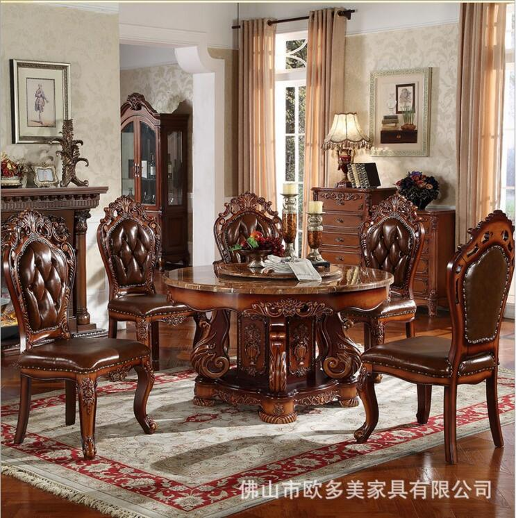 Solid Wood Formal Dining Room Sets
