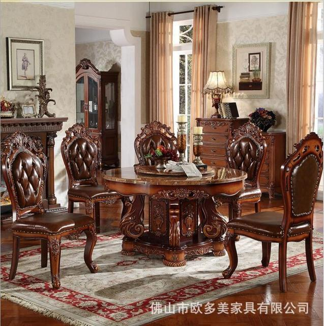 Round Living Room Set Contemporary Furniture For Small Spaces Us 3048 0 Modern Style Marble Italian Dining Table 100 Solid Wood Italy Luxury D1424 In Sets From