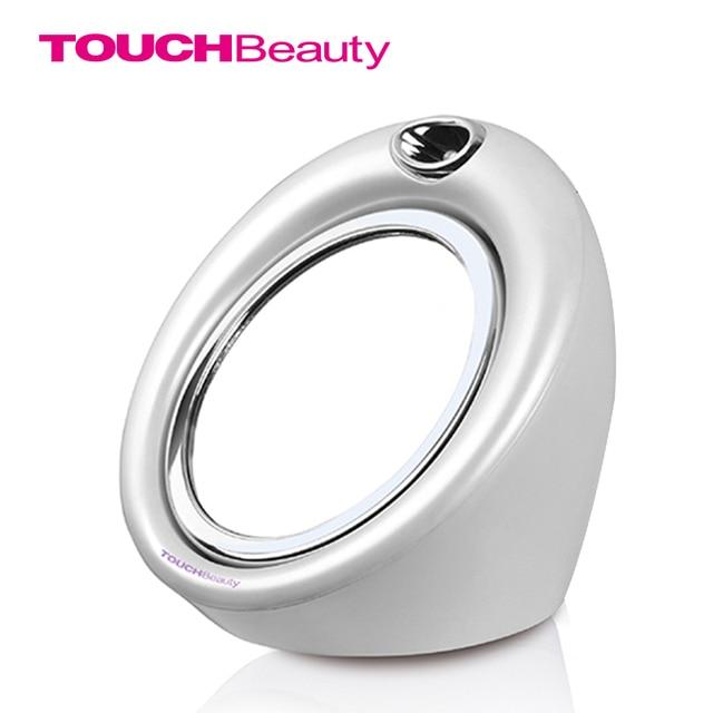 TOUCHBeauty Espejo de Maquillaje Luz LEDcwith, ABS de alta Calidad, Blanco perla TB-0989