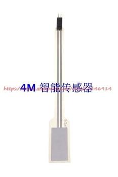 PVDF piezoelectric thin film sensor NDT1-220K can penetrate the human body's high frequency ultrasonic sensor probe flexible thin film resistive zns 01 gloves high precision thin film pressure sensor