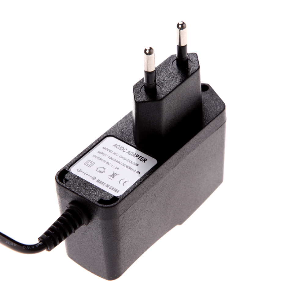 US $3 49 5% OFF|Power Adapter Universal AC 100 240V Converter Adapter  Charger Plastic Case LED Driver Wall mounted with EU Plug 3 5 * 1 35mm -in  AC/DC