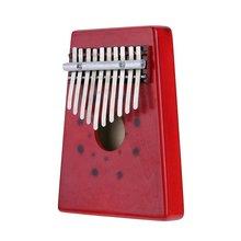 10 Keys Birch Finger Thumb Piano Mbira