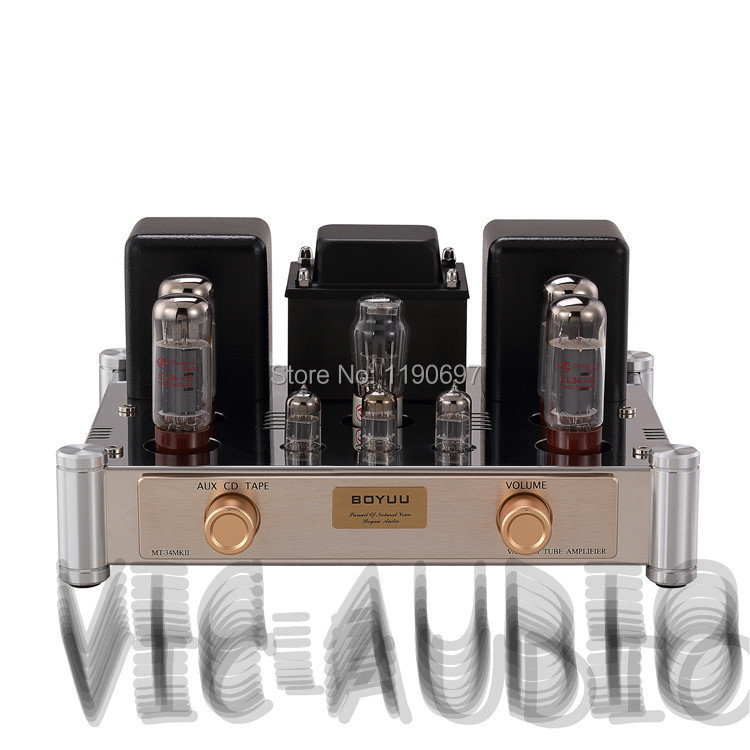 EL34 tube amp push-pull Class A amplifier finished product  5Z4 Rectifier Tube 6N1J Tube Hifi Stereo Audio appj smart wifi 6j1 6p4 vacumm tube amplifier mini hifi stereo integrated desktop amp finished product