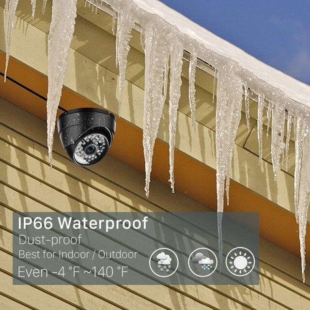 Onvif 3MP 2MP IP Camera 1080P Security Outdoor Surveillance Night vision 5