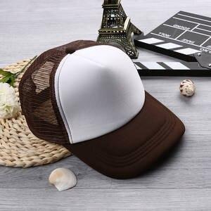 2196ec642ea okdeals 1PC Unisex Women Men Trucker Caps Baseball Mesh Hat