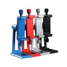Ajustável tripé adaptador de montagem vertical 360 rotação telefone clipper suporte para iphone x 8 7 huawei samsung
