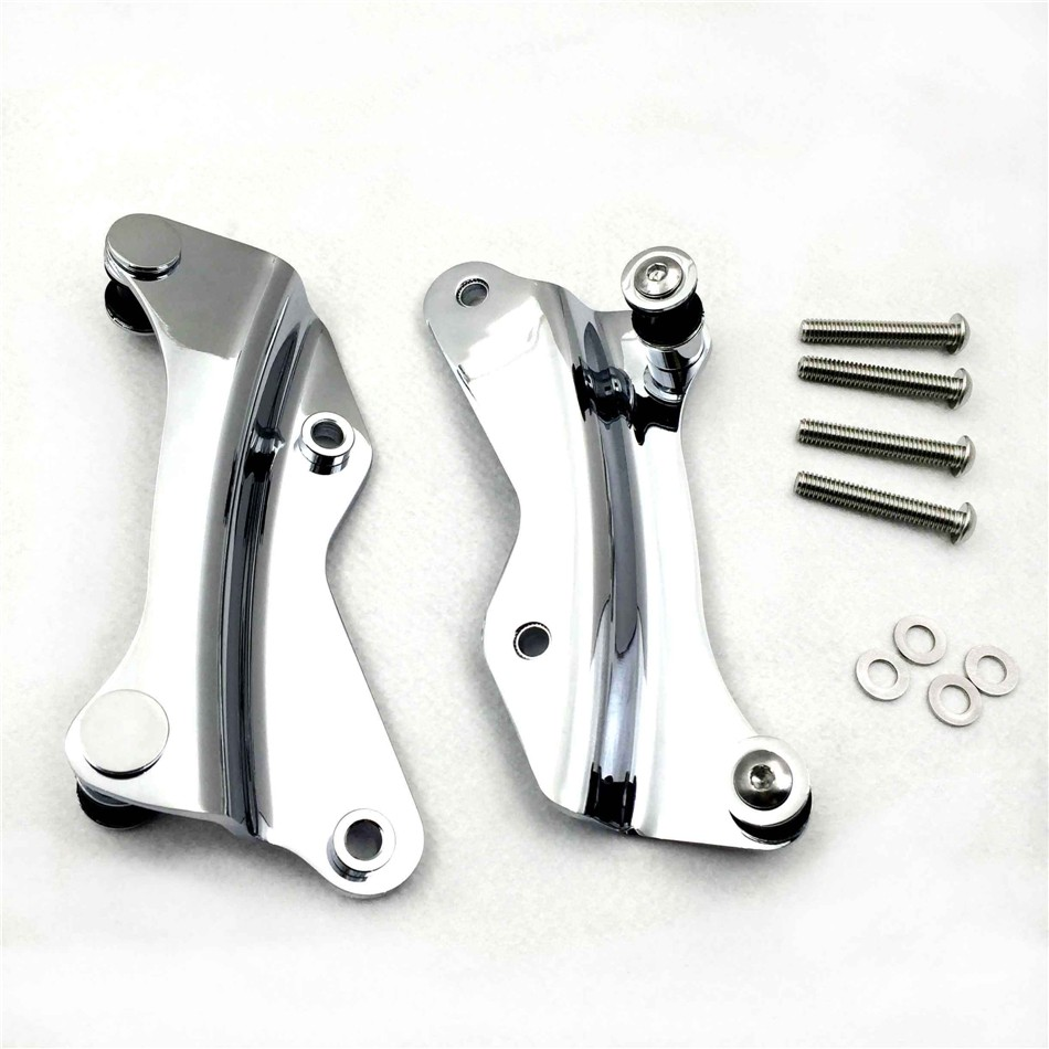 Aftermarket free shipping motorcycle parts Luggage Rack 4-point Docking Hardware Kit For Harley Davidson 2014-2016 Touring Road scooter parts 8pcs chrome speedometer gauges bezels and horn cover case for harley davidson touring free shipping