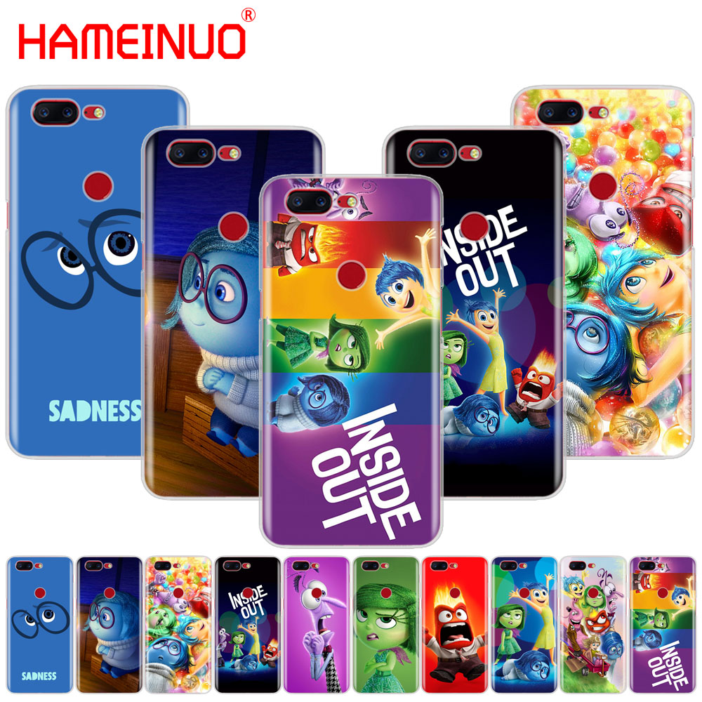 HAMEINUO Cartoon <font><b>anime</b></font> Inside Out cover phone <font><b>case</b></font> for Oneplus <font><b>one</b></font> <font><b>plus</b></font> 5T 5 3 <font><b>3t</b></font> 2 A3000 A5000 image