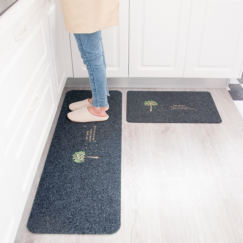 Tapis de salle de bain résistant à l'usure ensemble de tapis de bain antidérapant longue salle de bain cuisine tapis de sol tapis de toilette tapis de bain 40*60cm 40*120cm