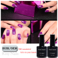 UV gel 97 colorful nail polish needed led lamp cure Hot Sale